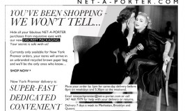 discreet shopping email from netaporter